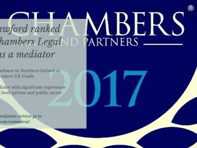 Dorcas Crawford ranked again in Chambers Legal Directory as a mediator